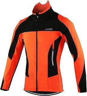 Lixada Chaqueta de Ciclismo Hombre Invierno y Pantalones