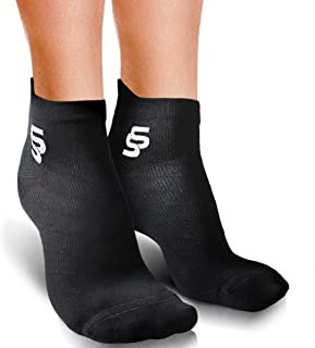 Running Socks Women and Men Low Cut Work Out Best Compression Sock