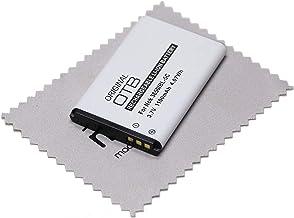 Batería de repuesto para teléfono T-Com Telekom T-Sinus A806, Vodafone 702NK, 702NKII, Tiptel 6011 OTB con paño de limpieza mungoo