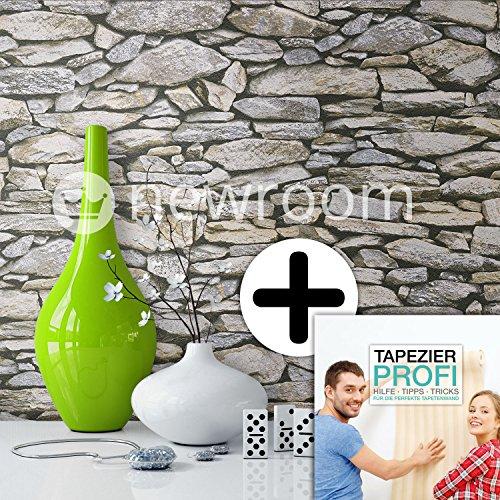 Behang steen fotobehang inclusief