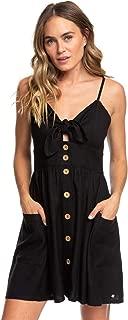 ROXY Women's Under The Cali Sun Button Front Dress