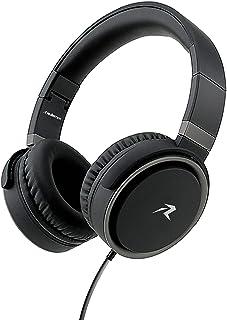 Redlemon Audífonos Alámbricos Tipo Diadema Plegables con Aislamiento de Ruido Externo, Sonido High Definition, Manos Libres, Cable Auxiliar 3.5mm