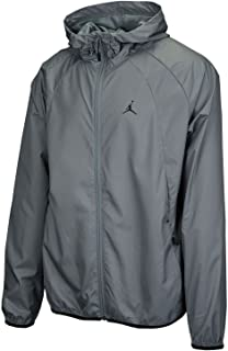 4c21b0dded40 NIKE Men s Jordan Sportswear Wings Windbreaker Jacket Cool Grey Black
