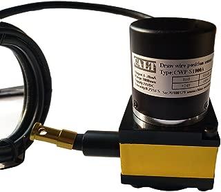 CALT 1000mm Draw Wire Encoder Sensor 0-5V Analog Output
