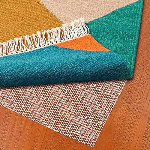 Antirutschmatte für Teppich aus Fußbodenheizung Geeignete Teppich Antirutschmatte für Glatte und Harte Böden Teppichstopper für EIN sicheres Zuhause