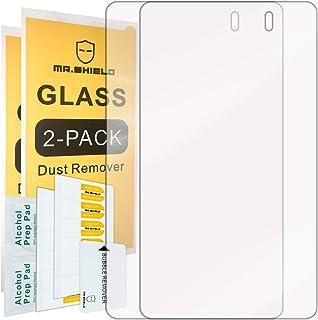 [2 件装]-Mr 护盾 华硕 (Google) Nexus 7 FHD(*二代) 2013 平板电脑 [钢化玻璃] 屏幕保护膜终身更换保修