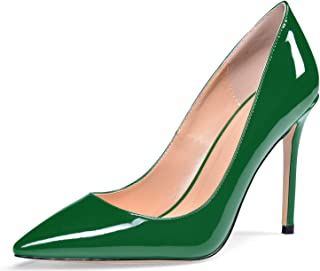 elashe Scarpe col Tacco Donna - Classico High Heels Scarpe da Donna - Tacco a Spillo - 4 Inches Scarpe Donna