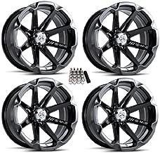 MSA M12 Diesel ATV Wheels/Rims Black 15