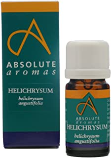 Absolute Aromas Helichrysum Essential Oil (2ml) - 100% Pure, Natural, Undiluted, Vegan and Cruelty-Free - Also known as Immortelle or Everlasting - For use in a Diffuser and Aromatherapy Blends