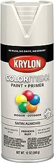 Krylon K05554007 COLORmaxx Spray Paint, Aerosol, Almond