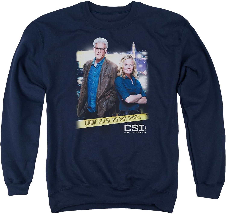 CSI  Mens Do Not Cross Sweater