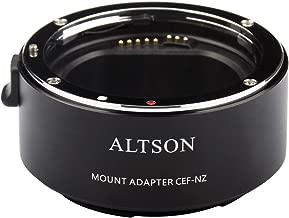 Altson CEF-NZ Smart Adaptor is Compatible with Canon EF/EF-S Len to Nikon Z Mount Camera Z6 Z7 (CEF-NZ)