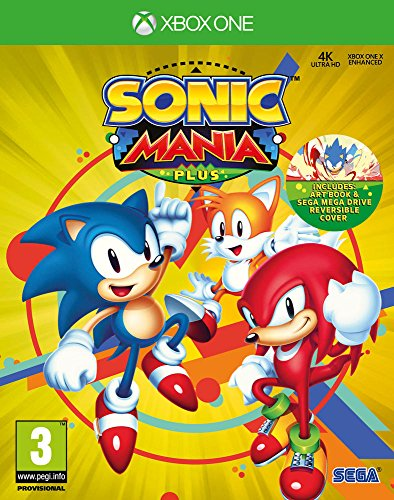 Sonic Mania Plus (with Artbook) - Xbox-one