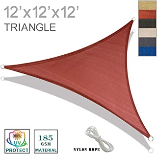 Best 20 ft triangle shade sail Reviews