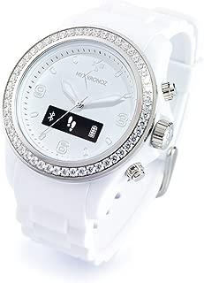 ZeClock Swarovski Smartwatch (White)