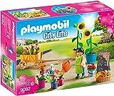 Playmobil Centro Comercial- Tienda de Flores Playset de Figuras de Juguete, 7,6 x 18,6 x 25,2 cm (Playmobil 9082)