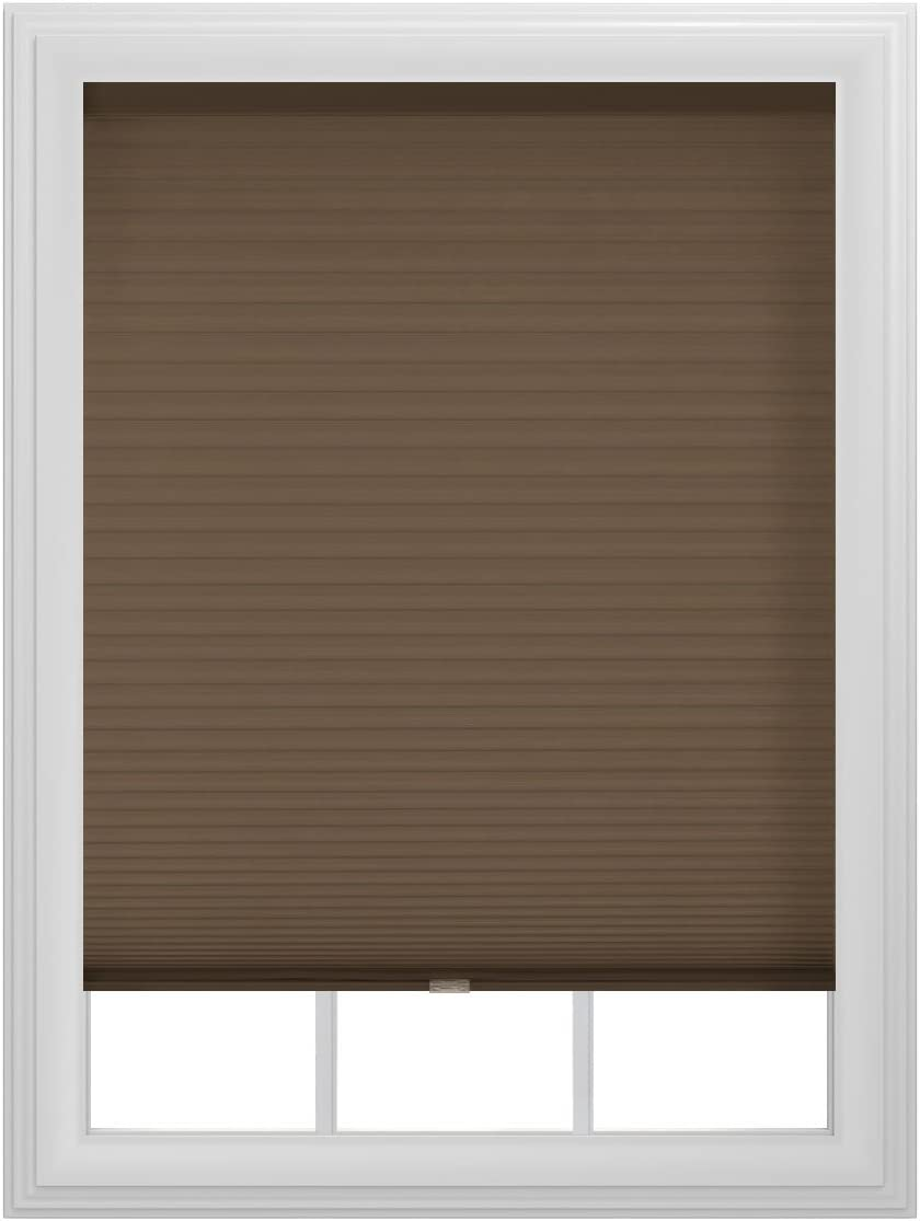 Bali Blinds Mocha Cordless Cellular Shade, 29 by 72-Inch