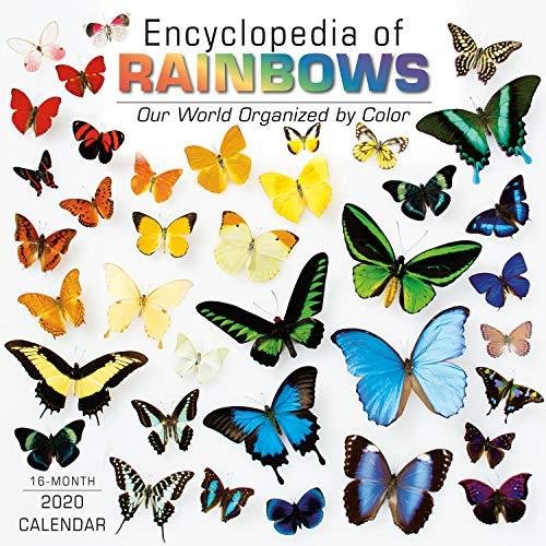 Encyclopedia of Rainbows 2020 Calendar: Our World Organized by Color