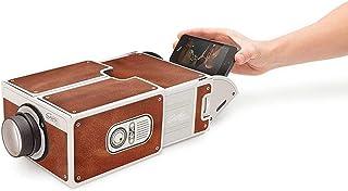 Mini Tragbare Pappe Smart Phone Projektor 2.0 Handy Projektion für Home Theater Audio & Video Projektor