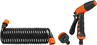 Seaflo 20' Hosecoil Washdown System for RV, Boat, Garden