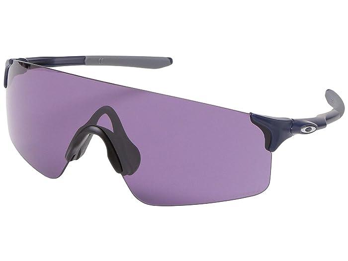 Oakley 38mm EVZero Blades (Matte Navy) Fashion Sunglasses