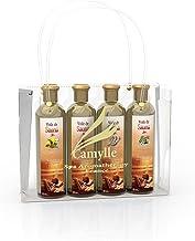 Camylle - Sélection Voile de Sauna présentée dans un superbe sac Camylle comprenant quatre flacons : 1 x 250ml Luxe - 1 x ...