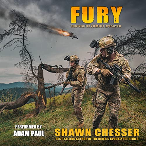 Fury Audiobook By Shawn Chesser cover art