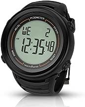 Health Sense PD-102 Smart 3D Pedometer Watch (Black)