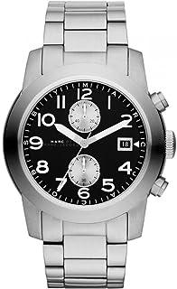 ساعة كوارتز للرجال من مارك جايكوبز، شاشة عرض انالوج وسوار من الستانلس ستيل، طراز MBM5050