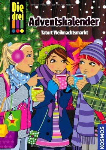 Adventskalender - Tatort Weihnachtsmarkt von Maja von Vogel (7. September 2012) Gebundene Ausgabe