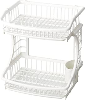 Pearl Life HB-3663 Two Tier Draining Basket, White