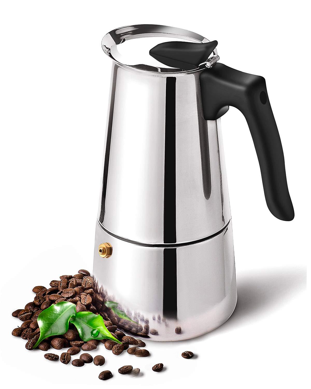 DclobDop - Cafetera de espresso con cafetera clásica y rica para ...