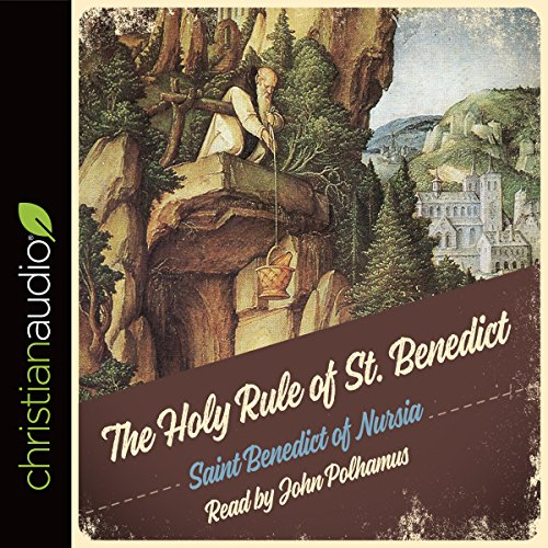 Holy Rule of St. Benedict audiobook cover art