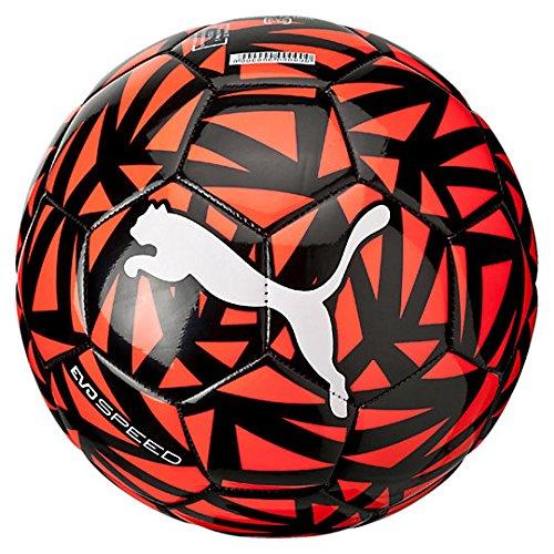 PUMA Evospeed 6 HB.WH/Red - Balón de fútbol de Ocio, Color Blanco, Talla 3