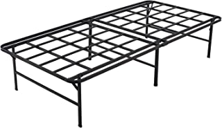 Homdock 16 Inch Metal Platform Bed Frame, No Assembly Needed and No Box Spring Needed Mattress Foundation, Twin XL Size