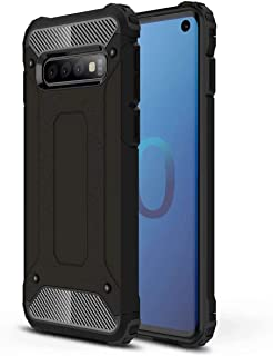 FanTing Case for Honor 8C, [ Shockproof] [Heavy Duty] [Tough Armoured] Generous Rugged Tough Dual Layer Armor Case, Four corners thickened, Cover for Honor 8C -Black