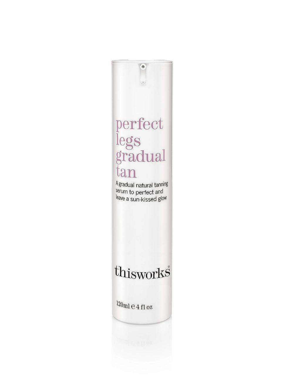 羽ブラザー有毒なThisWorks Perfect Legs Gradual Tan 120ml/4oz並行輸入品