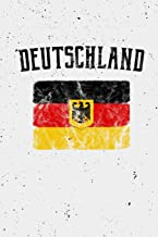 Deutschland: (Germany in German) German Flag Notebook or Journal, 150 Page Lined Blank Journal Notebook for Journaling, Notes, Ideas, and Thoughts.