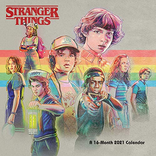 Calendario 2021 30x30 Stranger Things