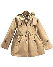 a5db21b157913 (sleeping sheep) 子供服 キッズ 女の子 スプリング コート フード付き 裏地 かわいい チェック 柄