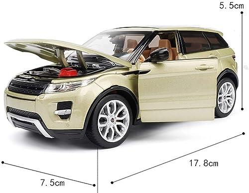 artículos de promoción YaPin Model Car Land Rover Rover Rover Range Rover Aurora SUV Modelo 1 24 Modelo de Coche Colección de aleación de simulación El Modelo Puede Conducir la Puerta ( Color   rojo )  venta con descuento