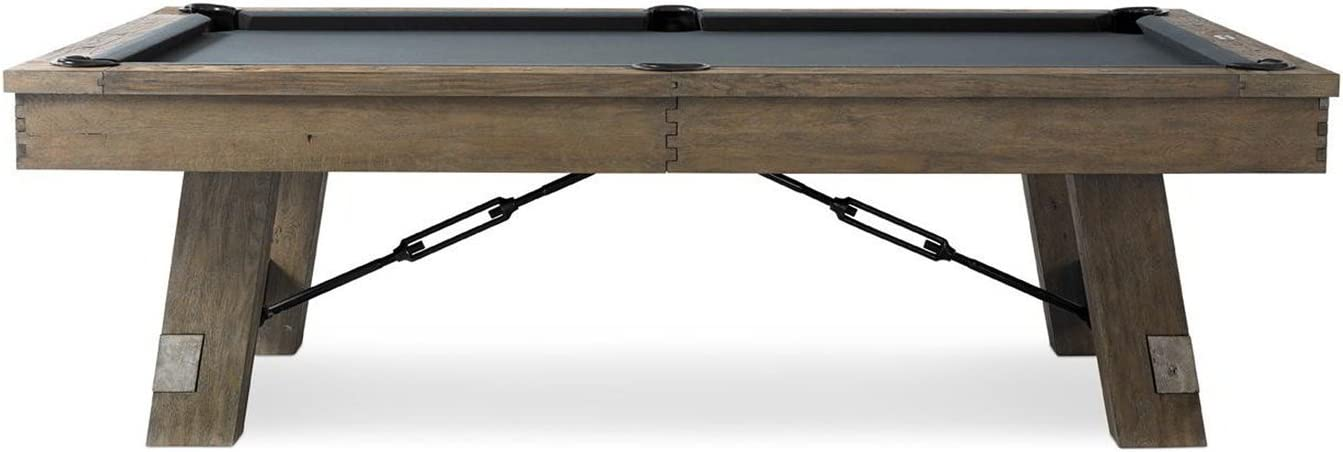 Plank and Hide lowest price Co. Isaac 8' Bombing free shipping Pool Table Ch Accessories-Includes w