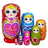RAILONCH Russische Matroschka Nesting Puppe Spielzeug Geschenk Matrjoschka