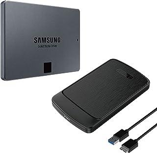 Samsung SSD 870 QVO 1TB 外付けケース付 MZ-77Q1T0B/OC 国内正規保証品