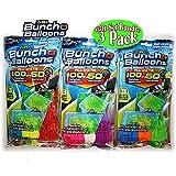 Zuru Bunch O Balloons Instant 100 Self-Sealing Water Balloons Complete Gift Set Bundle, 3 Piece (300 Balloons Total)