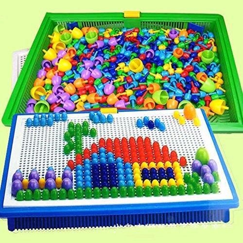 Juego de puzle creativo de 296piezas con forma de seta,...