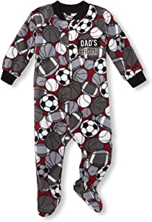 The Children's Place Boys Baby Printed Blanket Sleeper