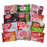 Nestle Japan Kit Kat candy bars Comparison 8 Bags Random Set Variety Assortment 8 Bags Japanese chocolate