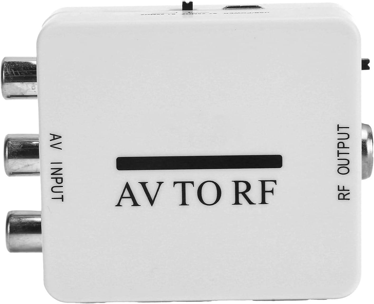 Video Converter Mini Gorgeous Audio Adapter Dallas Mall TV 67 CVSB AV to RF Amplifier