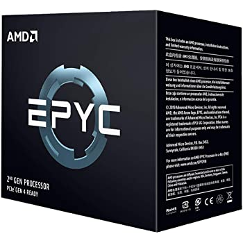 AMD EPYC (2nd Gen) 7742 Tetrahexaconta-core (64 Core) 2.25 GHz Processor - Retail Pack - 256 MB Cache - 3.40 GHz Overclocking Speed - 7 nm - Socket SP3 - 225 W - 128 Threads
